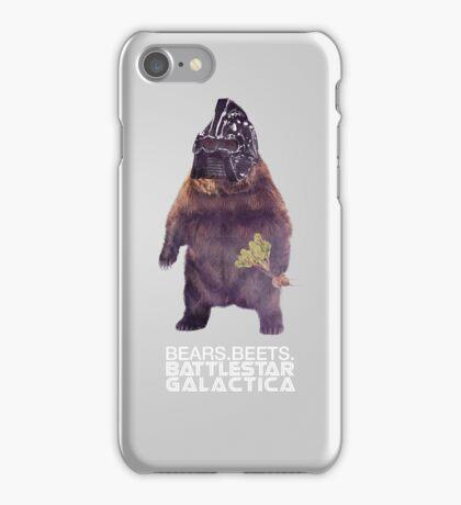 Bears Beets Battlestar Galactica - Poster iPhone Case/Skin