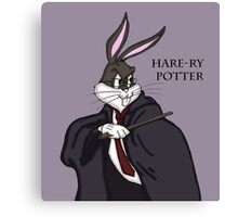 hare-ry potter Canvas Print