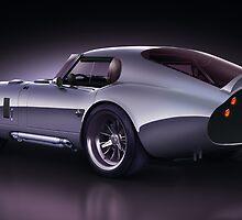 Shelby Daytona - Blue Streak by Marc Orphanos