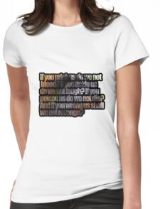 Cousin Womens Fitted T-Shirt