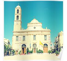 Chania Cathedral, Crete, Greece Poster