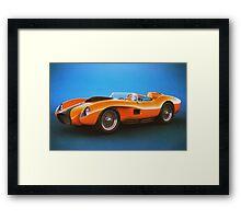 Ferrari 250 Testa Rossa - Vintage Racing Framed Print
