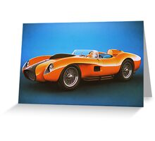 Ferrari 250 Testa Rossa - Vintage Racing Greeting Card