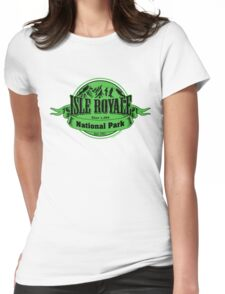 Isle Royale National Park, Michigan Womens Fitted T-Shirt