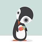 Pingu Loves Icecream by volkandalyan