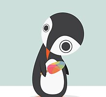 Pingu Loves Icecream by volkandalyan
