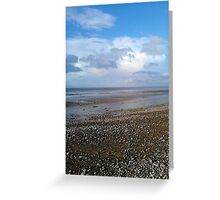 Blue Anchor #3 Greeting Card