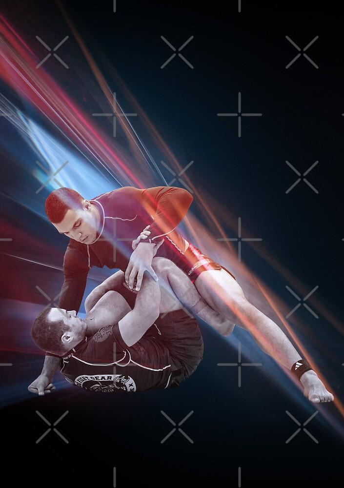Jiu Jitsu No Gi Pass Poster by Willy Karl Beecher