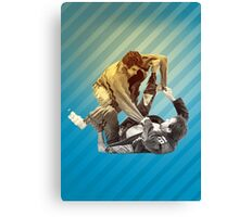 Jiu Jitsu Spider Guard Poster Canvas Print