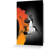 BRASILIAN JIU JITSU SMASH PASS POSTER Greeting Card
