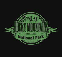 Rocky Mountains National Park, Colorado Kids Tee