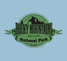 Rocky Mountains National Park, Colorado Baby Tee
