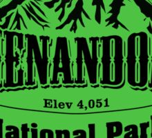 Shenandoah National Park, Virginia Sticker