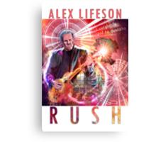 RUSH - Alex Lifeson Canvas Print