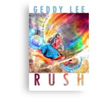 RUSH - Geddy Lee Canvas Print