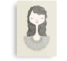 Pretty Girl Metal Print