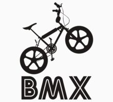 BMX Silhouette (Black) by Paulychilds