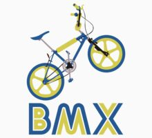 BMX (Blue & Yellow) by Paulychilds