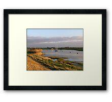 Burnham-on-Sea Estuary Framed Print