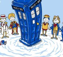 Doctor Whoville - Sticker Sticker