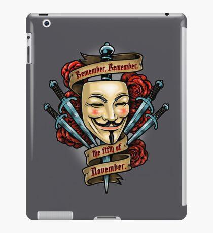 Fifth of November iPad Case/Skin