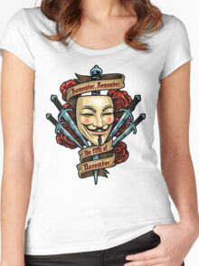 Fifth of November Women's Fitted Scoop T-Shirt