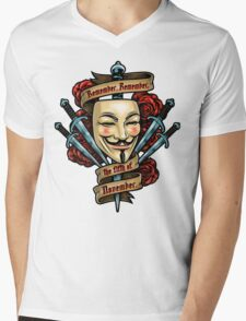 Fifth of November Mens V-Neck T-Shirt