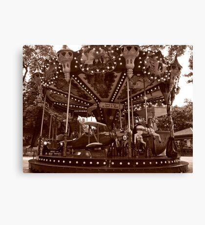 Carrousel Jules Verne Canvas Print