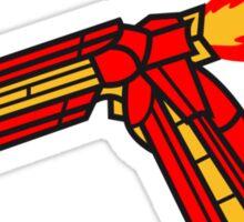 Elbow Rocket Robot Arm Sticker