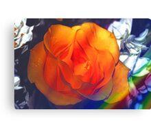 Gold rose 2 Canvas Print
