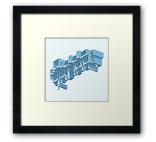 Orange County Government Center Framed Print