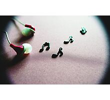The Love of Music Photographic Print
