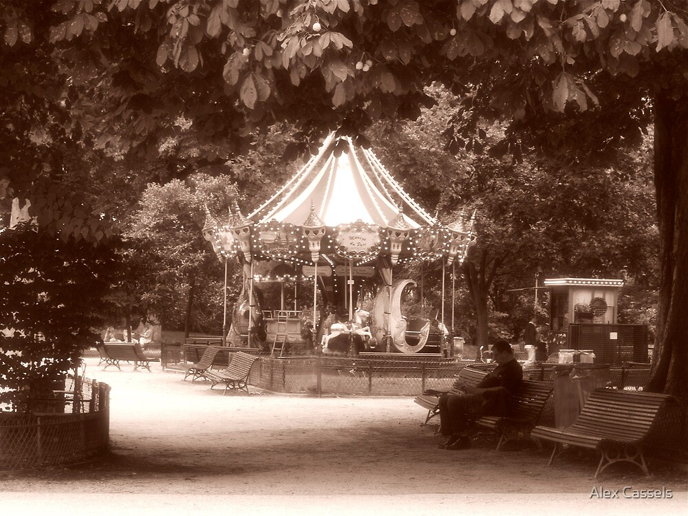 Manege Du Parc Monceau by Alex Cassels