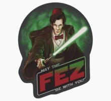 May the Fez be with You - Sticker by ianleino