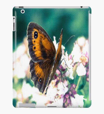 Butterfly in the garden  iPad Case/Skin
