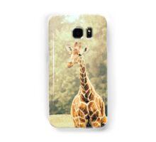 Giraffe Portrait Samsung Galaxy Case/Skin