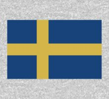 Sweden Flag by cadellin