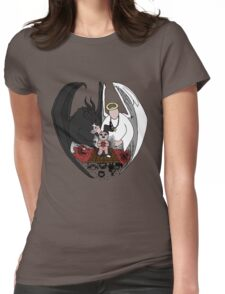 The Binding of Isaac - HEAVEN or HELL? - HIGH QUALITY Womens Fitted T-Shirt