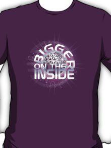 Bigger On The Inside - Purple T-Shirt