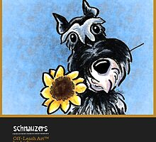 Schnauzers Off-Leash Art™ Vol 1 by offleashart