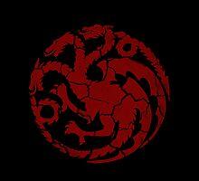 House Targaryen Worn Black by Greg Brooks