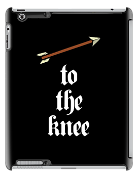 Arrow To The Knee (White Design) by jezkemp