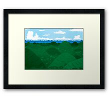 Chocolate Hills Framed Print