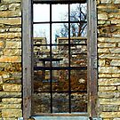Window Into The Past by Val  Brackenridge