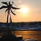 Sunset along Lake Michigan - 2 by Debbie Mueller