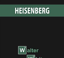 Breaking Bad - Heisenberg Dark Gray [IPhone Case] by Ilcho Trajkovski
