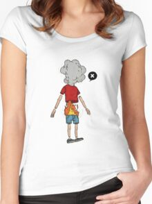 a boy on fire: the movie Women's Fitted Scoop T-Shirt