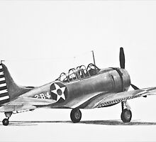 Douglas SBD Dauntless by Dave Black