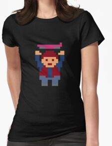 The Legend of Marty McFly Womens Fitted T-Shirt