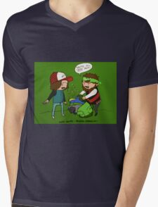 Game Grumps - They're all dead Mens V-Neck T-Shirt
